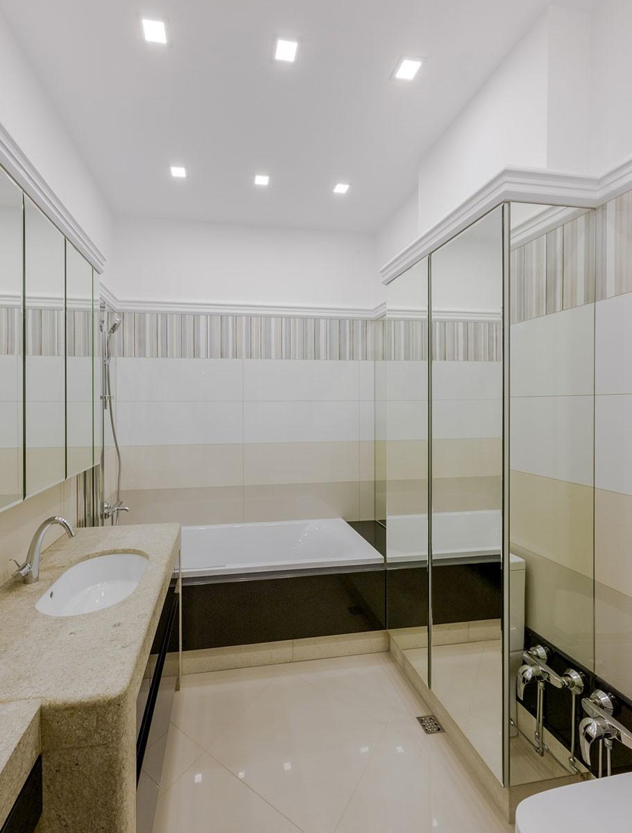 Ванная комната, квартира 11, дом 800, КП Довиль