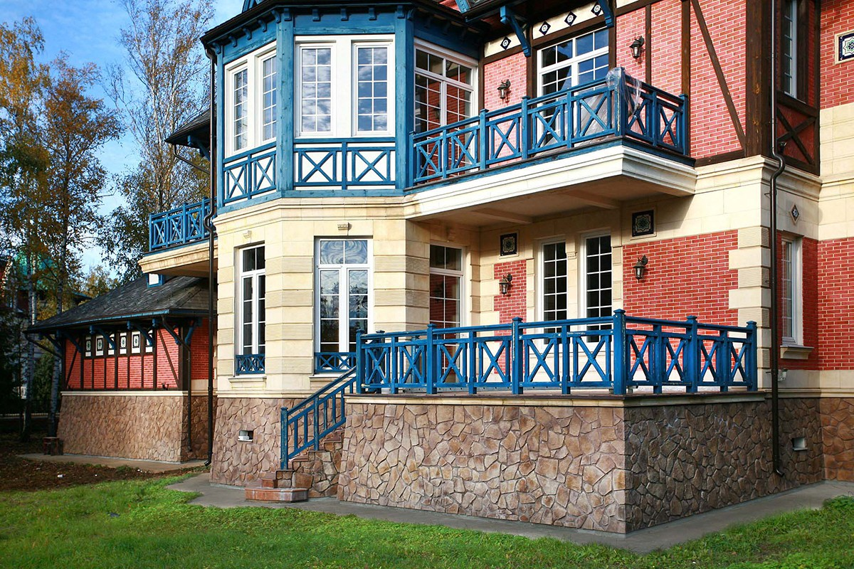 Фасад дома Бремен крупным планом