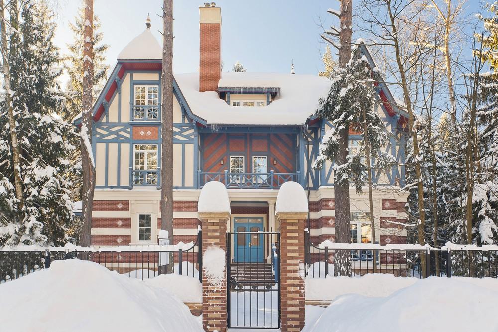 Дом Монпелье зимой, КП Довиль