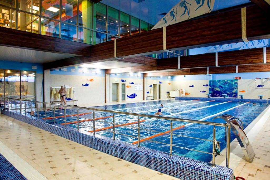 Бассейн в СВ фитнес в Одинцово
