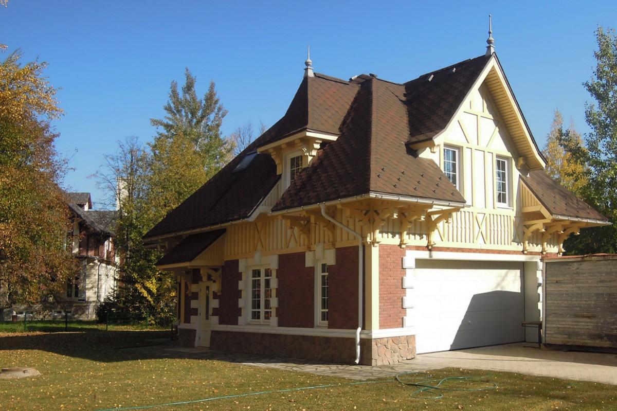 Гараж дома 226 в поселке Довиль