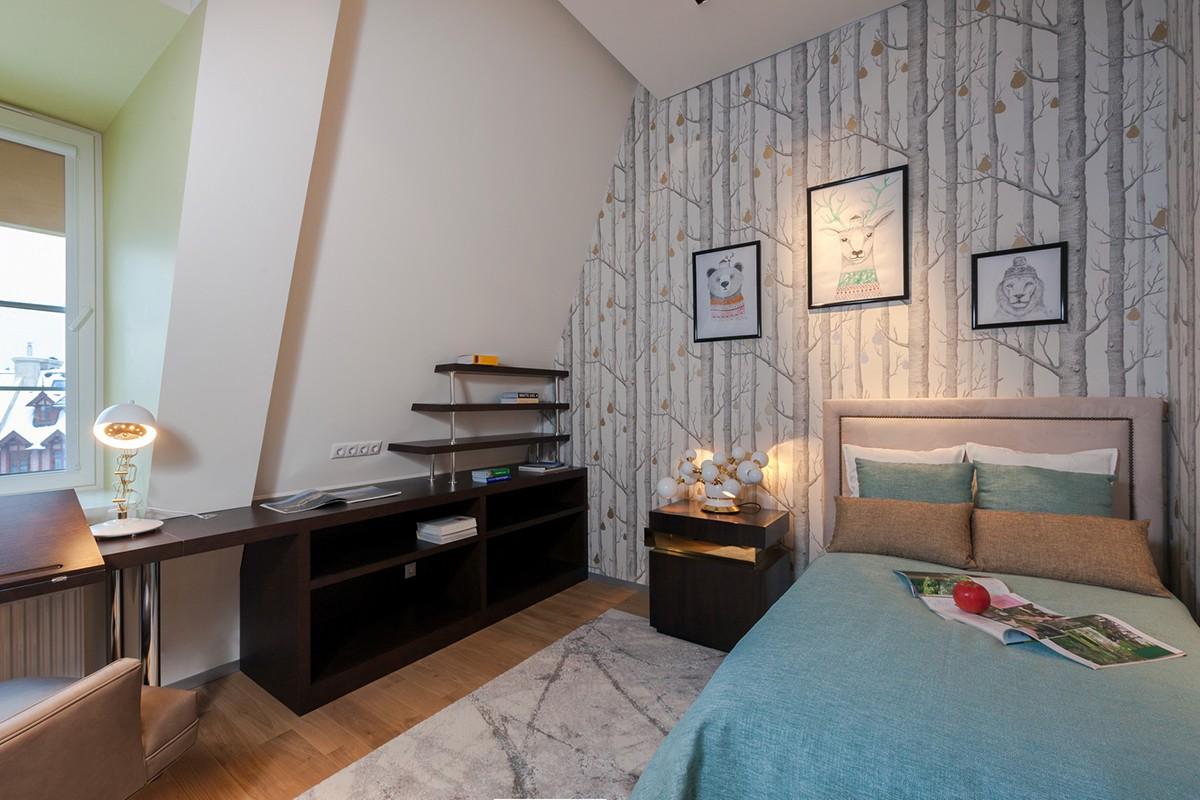 Спальня 3 в квартире 3 в доме 800, КП Довиль
