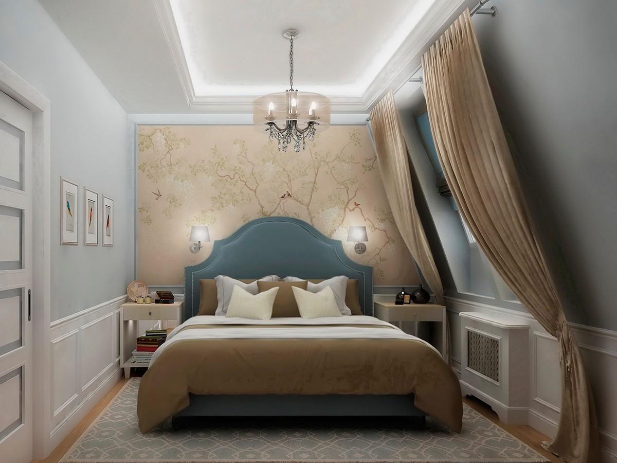 Спальня квартиры 10 в доме 800, коттеджный поселок Довиль