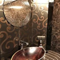 Ретро раковина ванной кп Довиль