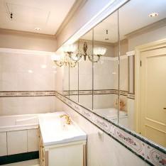 Ванная комната спальни, 2 этаж, таунхаус 526, Подмосковный Довиль