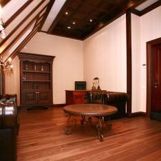 Кабинет, мансардный этаж, таунхаус 526, поселок Довиль