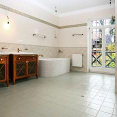 Ванная спальни №2 в доме 115, КП Довиль, Минское шоссе