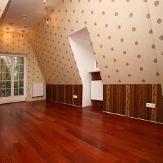 Спальня №4, мансарда дома 115, КП Довиль