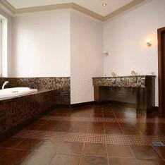 Ванная комната главной спальни, дом Бремен, КП Довиль