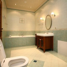 Ванная спальни №2 в доме 409, КП Довиль
