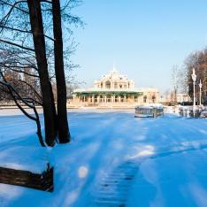 Замерзшее озеро в КП Довиль