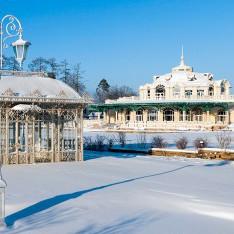 Зимнее фото поселка Довиль