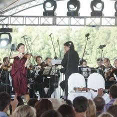 Концерт на свежем воздухе в КП Довиль