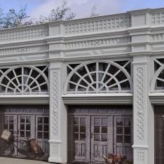 Индивидуальные гаражи в поселке Довиль
