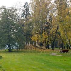 Парк в КП Довиль