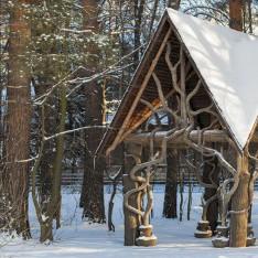 Арт-объект из дерева, КП Довиль