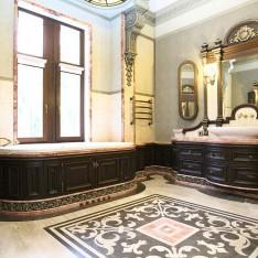 Ванная главной спальни дома 420, КП Довиль