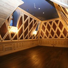 Домашний кинотеатр в доме 420 в поселке Довиль