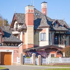 Дом в нормандском стиле, Довиль