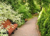 Цветочная скамейка